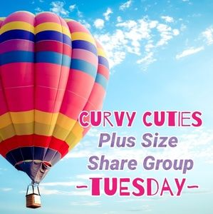 Tops - 6/11 (CLOSED) PLUS SHARE GROUP: Curvy Cuties